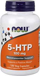 NOW Supplements, 5-HTP 100 mg, 120 Veg Capsules