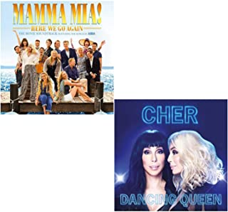 Mamma Mia Here We Go Again (OST) - Dancing Queen - Cher Sings Abba Greatest Hits 2 CD Album Bundling