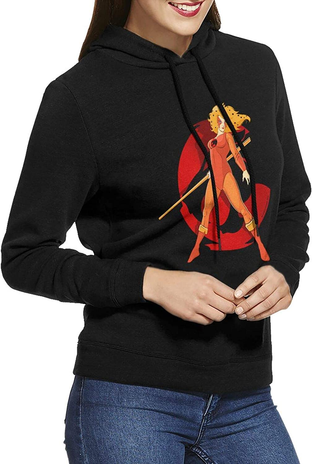 5 ☆ popular Thundercats Sale special price Hoodie Womens Casual Long Cotton Sweatshirts Sleeve
