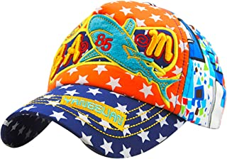 MTFS Boys Hip Hop Whale Breathable Mesh Cap Baseball Caps Truck Hats