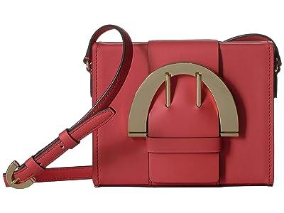 ZAC Zac Posen Biba Buckle Large Crossbody (Apple) Handbags
