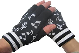 piano scarf and gloves