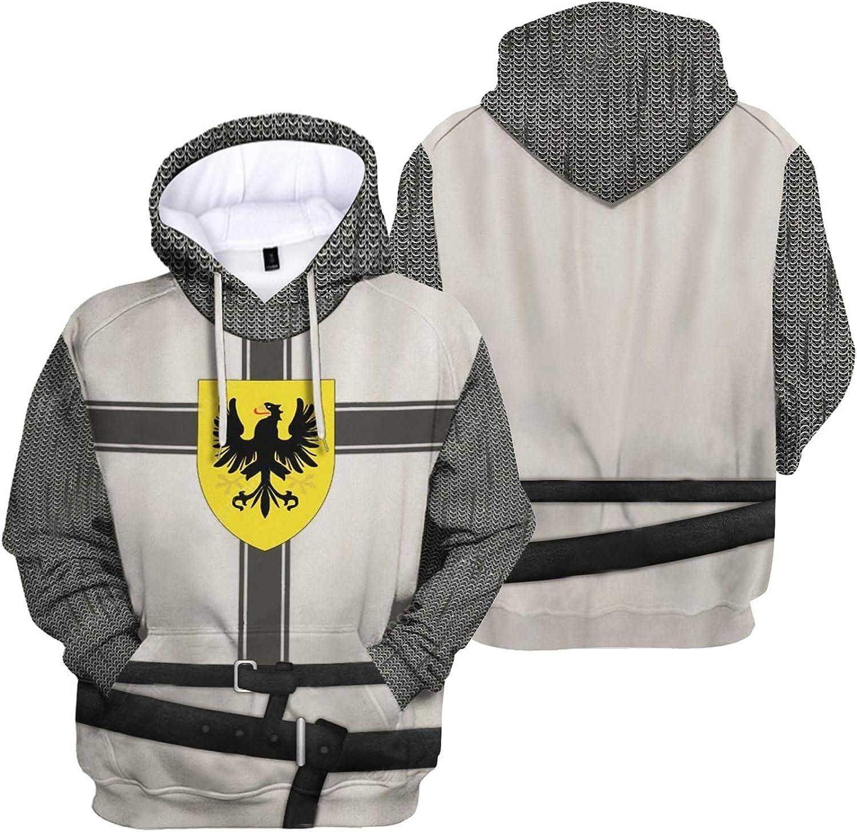 Historical Hoodie Medieval Knight Revolutionary Army 低廉 War 5☆大好評