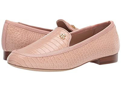LAUREN Ralph Lauren Clair (Ballet Slipper/Ballet Slipper Soft Mini Croc/Grosgrain) Women
