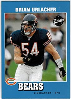 Amazon.com  2001 Upper Deck Vintage Chicago Bears Team Set with Brian  Urlacher   Anthony Thomas RC - 9 NFL Cards  Collectibles   Fine Art 4ca0aaa28
