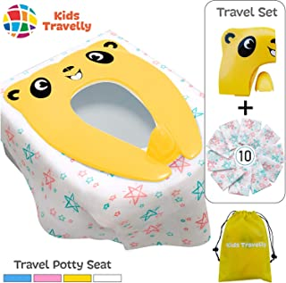 potty training toilet seat and step