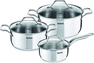 Tefal Intuition V2 - Set 6 pcs,Silver,A702S685, Stainless Steel