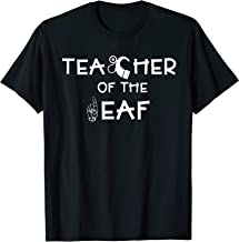 Teacher of the Deaf with ASL and Cochlear implant Design T-Shirt