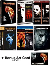 Halloween: Ultimate 11 Movie Collection: Complete Original + Rob Zombie Remakes + 2018 Sequel DVD Series + Bonus Art Card