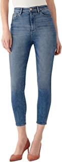 DL1961 Women's Chrissy Cropped Ultra High Rise Instasculpt Skinny
