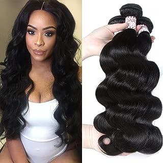 Grace Plus Hair Brazilian Virgin Hair Body Wave Remy Human Hair bundles 3pcs lot 100% Unprocessed Virgin Human Hair Extensions Natural Wave No Tangel No Shedding (16 18 20)