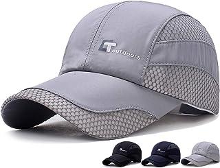 キャップ メッシュ【通気性& 軽量&速乾&紫外線カット率99%】 夏 野球帽 ゴルフ 帽子 UVカットシンプル おしゃれ サイズ調整可能 男女兼用 ゴルフ テニス 釣り 運転 ハイキング 登山 旅行アウトドアなどにメッシュ帽