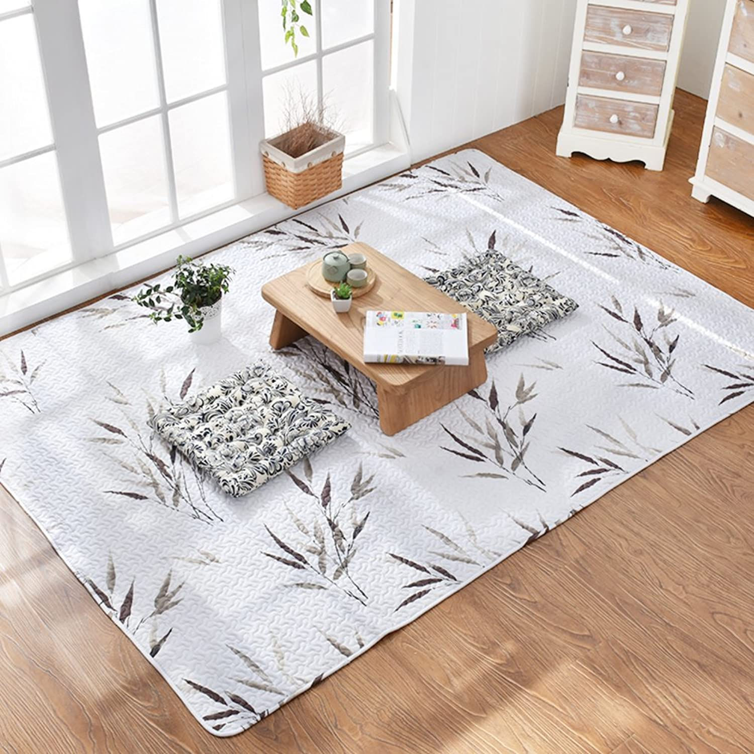 Cotton Mats for Household Use Bedroom Bedside Mats Doormat-B 150x210cm(59x83inch)