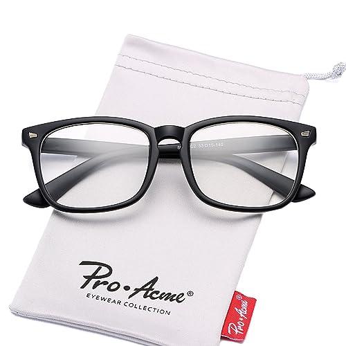 70744df435 Pro Acme Non-prescription Glasses Frame Clear Lens Eyeglasses