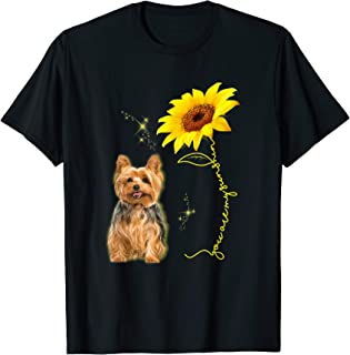 You Are My Sunshine Sunflower Yorkshire Lover T-shirt