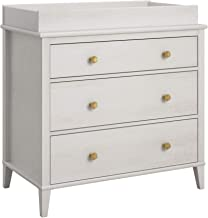 Little Seeds Monarch Hill Poppy 3 Drawer Changing Table, Ivory Oak