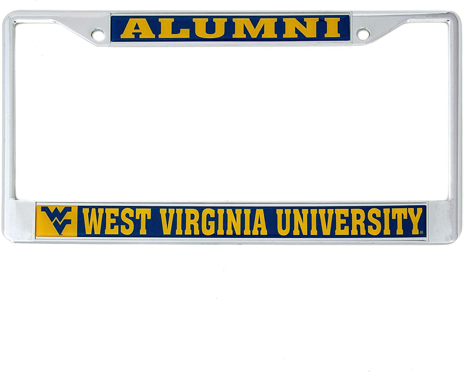 West Virginia University WVU Mountaineers Ranking TOP2 Fr Metal New Free Shipping License Plate