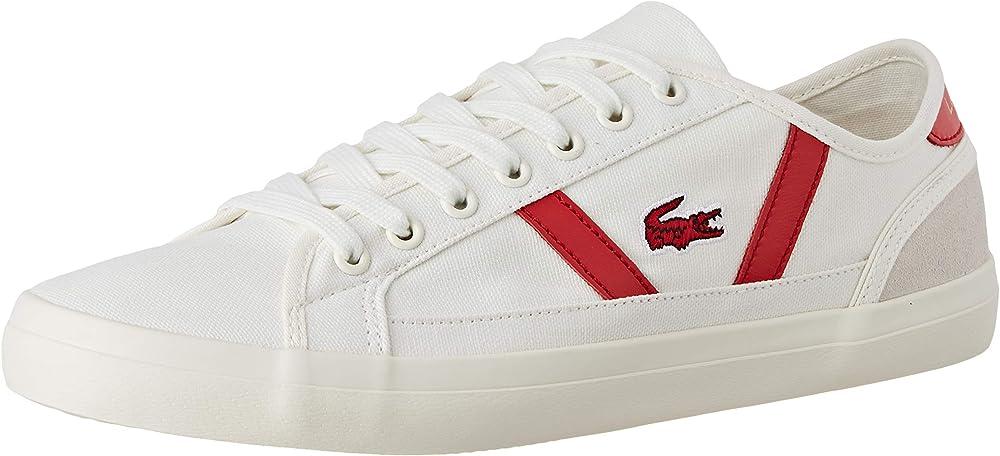 Lacoste sideline,scarpe da ginnastica,sneakers per uomo,in tela 37CMA0066