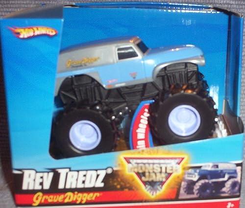 Hot Wheels Monster Jam Rev TrotzBlau & CHROME Größe DIGGER Official Monster Truck Series 1 43 Scale
