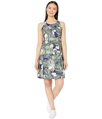 Royal Robbins Jammer Knit Dress (Ink Blue Print) Women