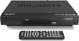 Majority Scholars Compact DVD Player, Multi-Region Region Free, USB Port, DivX, RCA & HDMI Port, Built-in PAL/NTSC System,...