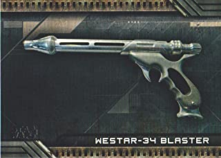 2018 Topps Star Wars Galactic Files Weapons #W-4 Westar-34 Blaster