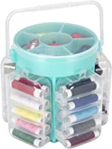 Everyday Home 210 Piece Sewing Kit Deluxe Caddy, Aqua