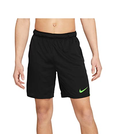 Nike Big Tall Dry Shorts 5.0 (Black/Mean Green/Mean Green) Men