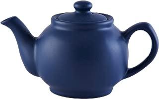 Price & Kensington Matte Teapot, 15-Fluid Ounces, Navy Blue