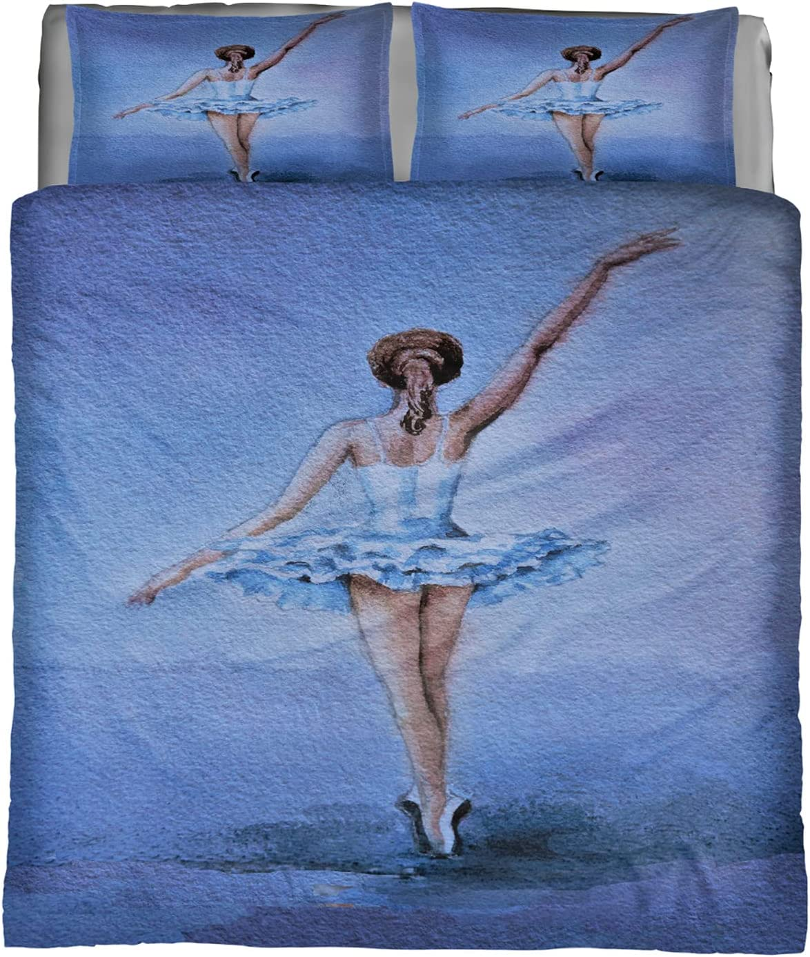 Comforter Set Queen Al sold out. Size Oil Painting Ballet Girl All items in the store Soft Bed Ultra