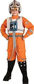 Rubies Star Wars Classic Child's Deluxe X-Wing Pilot Costume, Small