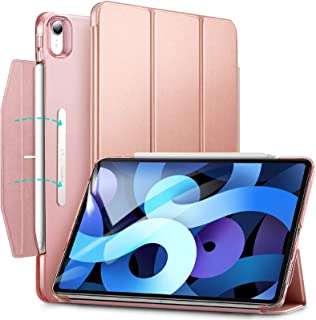 ESR Yippee Smart Case for iPad Air 4 10.9 Inch 2020, Trifold, Lightweight Stand Case with Clasp, Auto Sleep/Wake, Hard Bac...