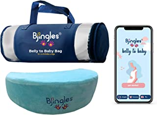 Pregnancy Sleep Set -Wedge Pillow-1st, 2nd & 3rd Trimesters/Mom & Maternity/ Mom to be Gift/ Portable/ Support Body, Belly, Back & Knees/ Adapts to All Women Sizes