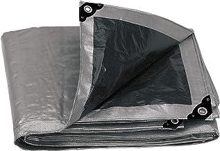 Truper LT-35, Lona reforzada color gris de 3 x 5 m, 180 g/m