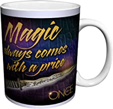 Once Upon a Time Rumplestiltskin Magic Comes with a Price Quote Fantasy Drama Fairy Tale TV Television Show Ceramic Gift Coffee (Tea, Cocoa) 11 Oz. Mug