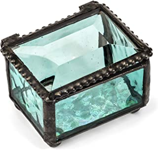 Best blue glass trinket box Reviews