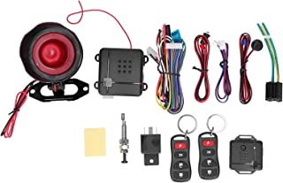 $31 » WANZSC One-Way Car Alarm System Remote Control Theft Proof Keyless Entry Security Alert with Shock Sensor, Car Security Al...