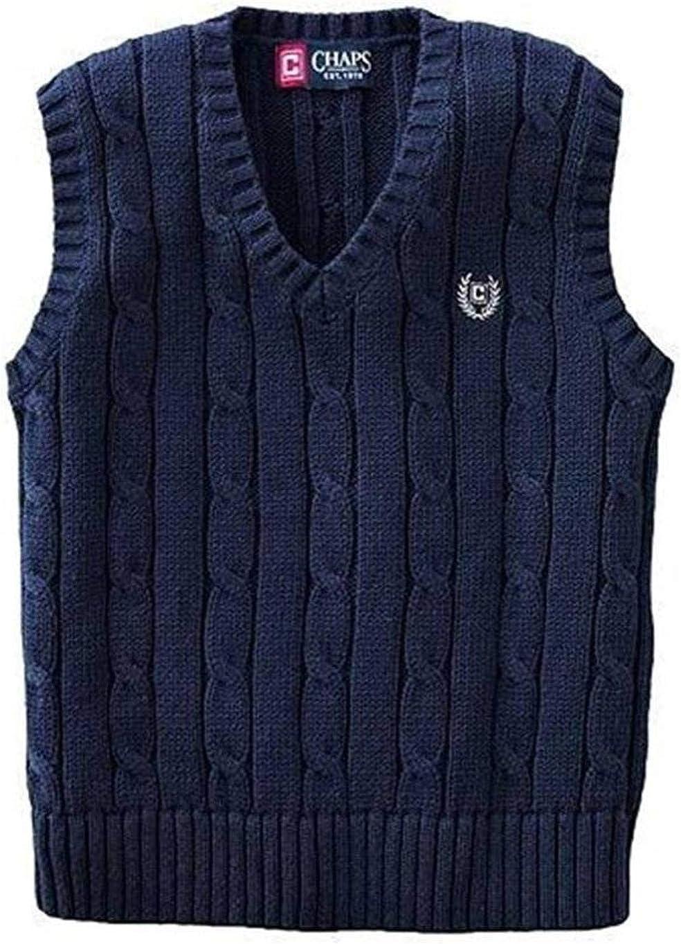 Chaps Boy's Cable Knit Sweater Vest