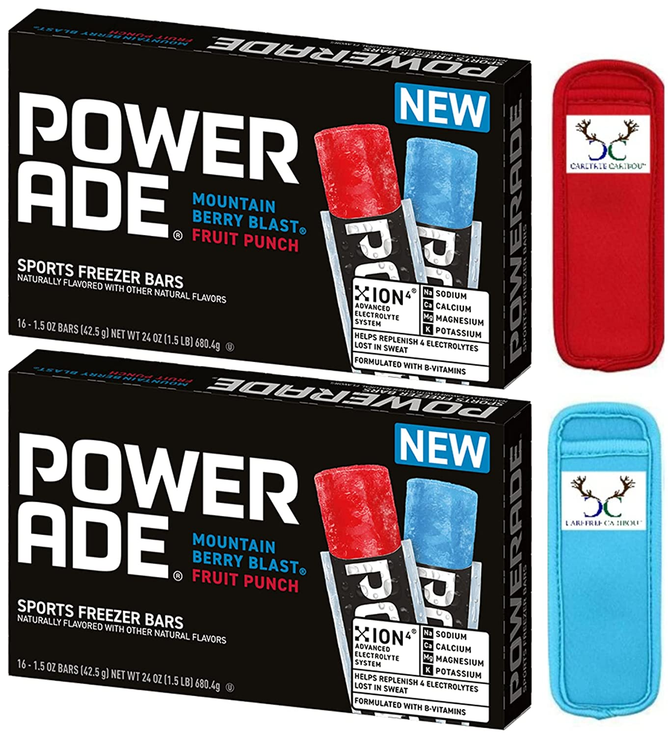 Powerade Sports 5 popular Freezer Recommended Bar Bundle. of Two Includes Boxes Sixtee
