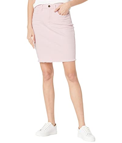 JEN7 Pencil Skirt w/ Fray Hem