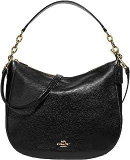 COACH Pebbled Leather Elle Hobo