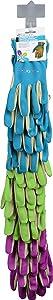 Garden Bloom 5013BL Spandex Gardening Gloves, 24-Pack, Assorted Colors