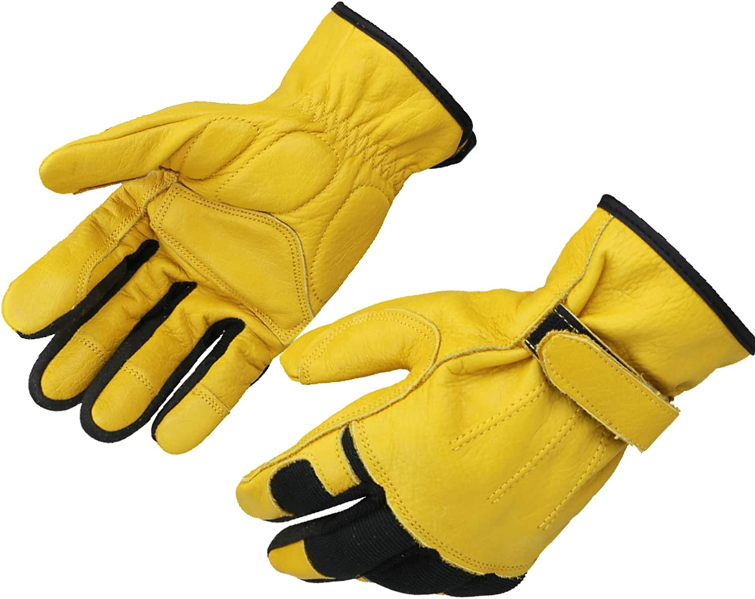 OLSON DEEPAK Leather Gloves Carpentry specialty shop for Garden Construction Max 74% OFF