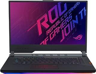 Asus ROG STRIX G G531GU-AL237T-STRIX G Gaming Laptop (Black) - Intel i7-9750H 4.5 GHz, 16 GB RAM, 1000 GB HDD+256GB SSD Hybrid, Nvidia GeForce GTX 1660Ti, 15.6 inches IPS, Windows 10, Eng-Arb-KB