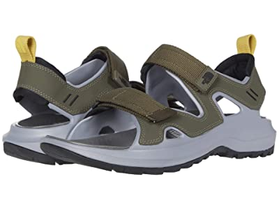 The North Face Hedgehog Sandal III (New Taupe Green/TNF Black) Men