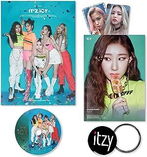 ITZY 1st Album - IT'Z ICY [ IT'Z ver. ] CD + Photobook + Photocards + FREE GIFT / K-POP Sealed