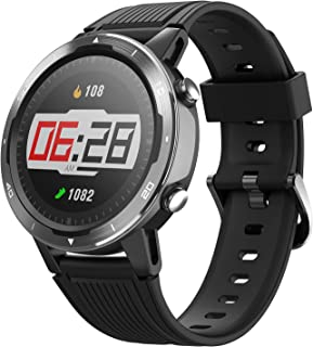 Letsfit Smart Watch, GPS Running Watch with Blood Oxygen Monitor, Fitness Tracker with Heart Rate Monitor, Swimming Tracki...
