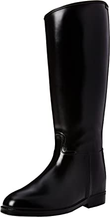 Hkm Women's Riding Boots Short and Wide with Zip Fastening