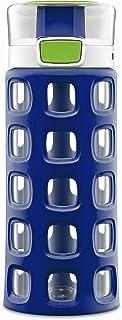 Ello Dash Tritan Plastic Water Bottle, Blue/Red, 16 oz.