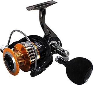 HFS(R) スピニングリール 釣り ギア比5:1 軽量280g 最大ドラグ力5Kg 左右交換可能